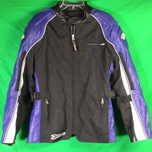 Joe Rocket Textile Leather Jacket Armour
